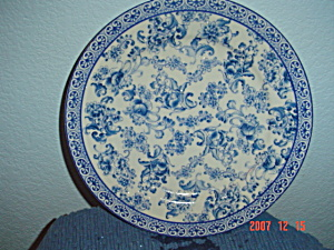 The Bombay Company China Decorator Plate #4