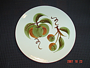Stangl Orchard Song Salad Plates