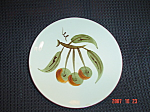 Stangl Orchard Song Bread And Butter Plates