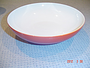 Crate & Barrel Palette Red Soup/cereal/pasta Bowls