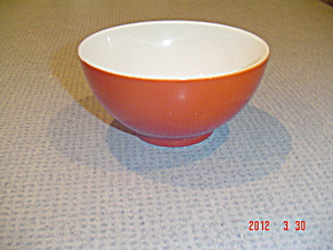 Crate & Barrel Palette Red Cereal/rice/ice Cream Bowls