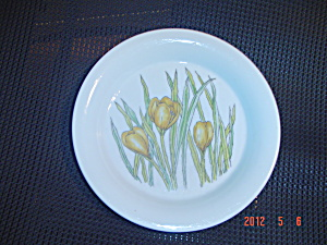 Dansk Designs Crocus Dinner Plates