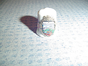 Metal Thimble From Berchtesgarden - Germany