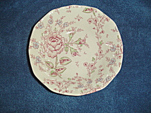 Johnson Bros. Rose Chintz Square Cereal Bowls