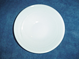 Martha Stewart White Ribbed Pattern No. 18 Cereal Bowls