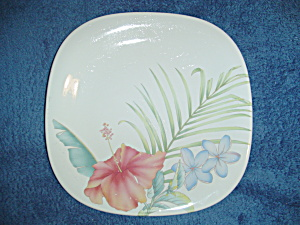 Mikasa Studio Nova Tropical Splendor Square Lunch/salad Plates