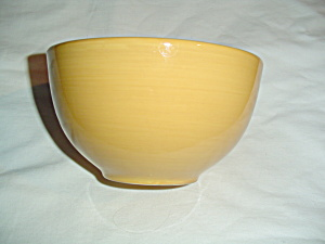 Artimino Ciao Ii Yellow Coupe Soup/cereal Bowl + Dessert