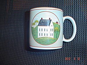 Sakura Country Life White House Mug