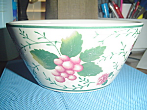 Waverly Roseberry Cereal Bowls