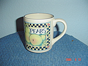 Susan Winget Vegetable And Fruit Pears Mug