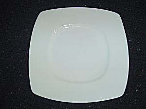 Pier 1 New Luminous Square White Salad Plate
