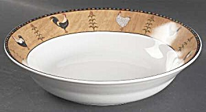 Sakura Country Quartet Soup/cereal Bowls