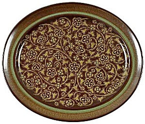 Franciscan Madeira 13.5 In. Oval Serving Platter