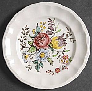 Spode Copeland Gainsbourough Bread And Butter Plates