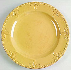 Signature Sorrento Wheat Gold Dinner Plates