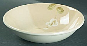 Crate & Barrel Orchid Coupe Soup/cereal Bowls