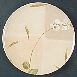 Crate & Barrel Orchid Dinner Plates