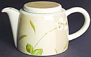 Crate & Barrel Orchid Tea Pot