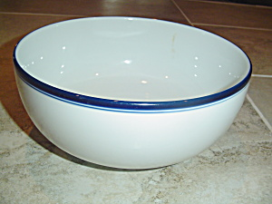 Dansk Bistro Deep Serving Bowl - Mint