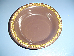 Franciscan Jamoca Soup/cereal Bowls No Center Pattern