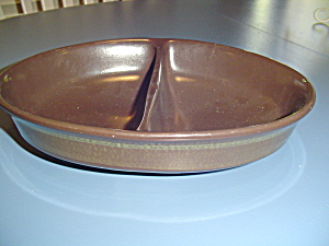 Franciscan Madeira Divided Serving Bowl