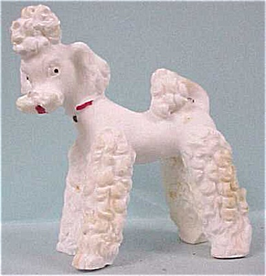 1930s White Poodle