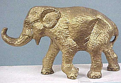 Heavy Brass Elephant