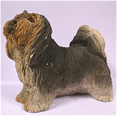 1984 United Design Resin Lhasa Apso Dog