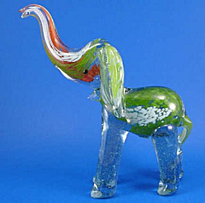 Art Glass Elephant