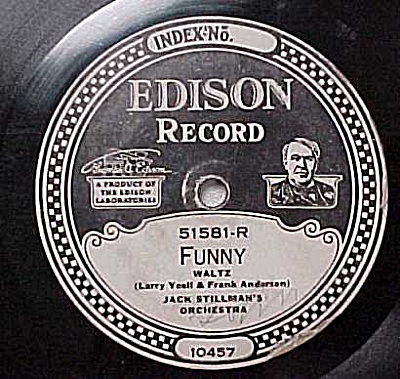 Edison Record #51581: 'day Dreaming' 'funny'