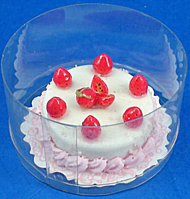 Dollhouse Miniature Cake