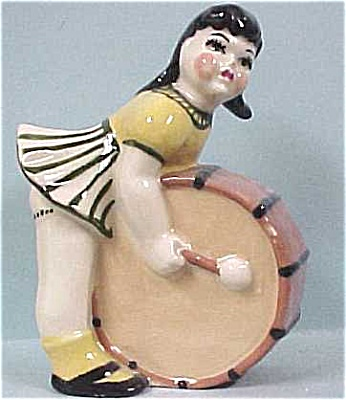 Cas Girl With Drum