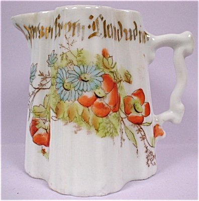 Bavarian 1920s Small Porcelain Pitcher