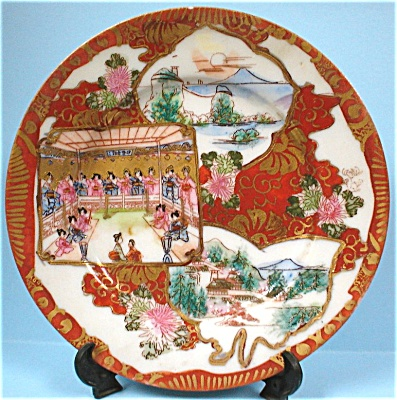C1900 Lovely Small Oriental Plate