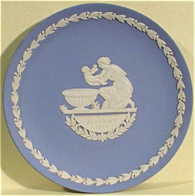 1973 Wedgwood Jasper Mother Plate