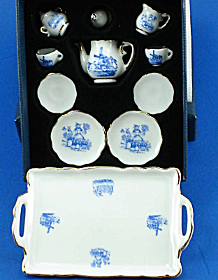 Ruetter Porcelain Miniature Tea Set