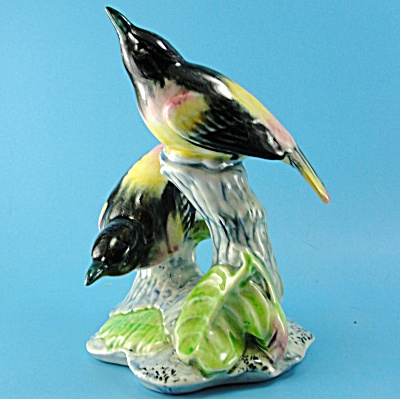 Stangl Pottery Double Oriole #3402d
