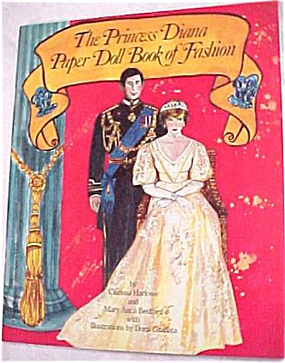 Princess Diane Paper Doll Book Of Fashions