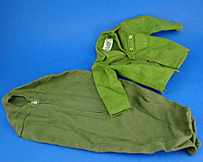 1960s Gi Joe Sleeping Bag And Shirt