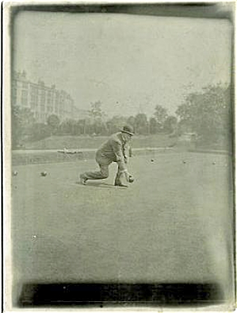 Antique Photo - Lawn Bowling In England. C.1900.