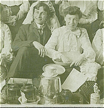 Cabinet Photo - Amazing Housewares Party C.1900.