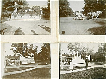 Cabinet Photo -set Of 6 Awesome Parade C.1898