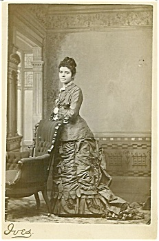 Cabinet Photo - Mrs. Shelton Of Niles Michigan - Superb