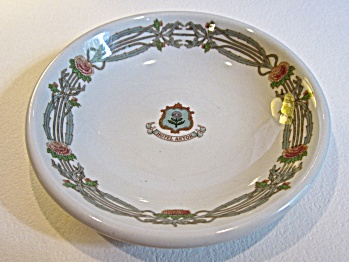 "1941 Hotel Astor Ny ""thistle China"" Small 5"" Bowl"