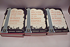 The Decline And Fall Of The Roman Empire (3 Volume Set)