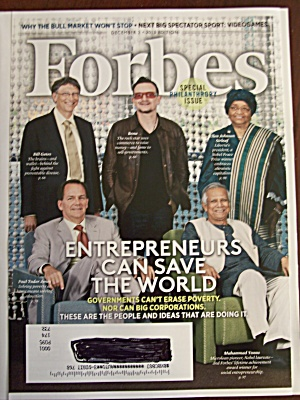Forbes, Volume 192, No. 8, December 2, 2013