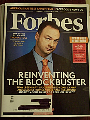 Forbes, Volume 197, Number 3, February 29,2016