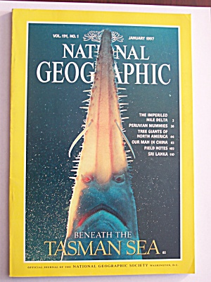 National Geographic, Volume 191, No. 1, January 1997