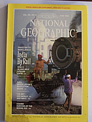 National Geographic, Volume 165, No. 6, June 1984