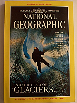 National Geographic, Volume 189, No. 2, February 1996